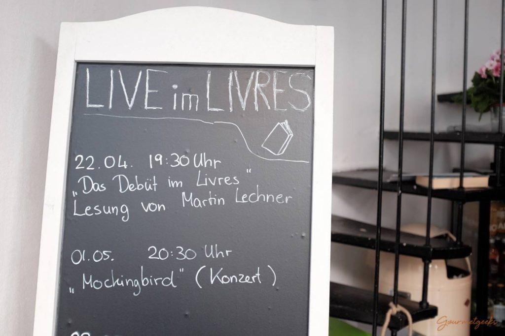 Live im Café Livres