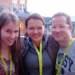 Endlich da: pre:publica (Giulia, Michaela, Rouven)