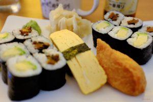 Kleine Sushi Platte