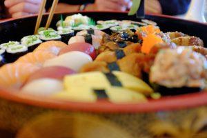 Große Sushi Platte