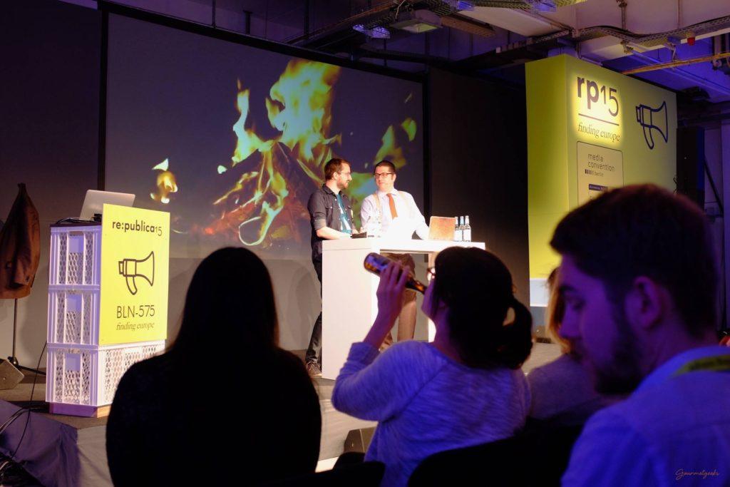 Bildungstrinken mit Matthias Bauer und Joerg Meyer