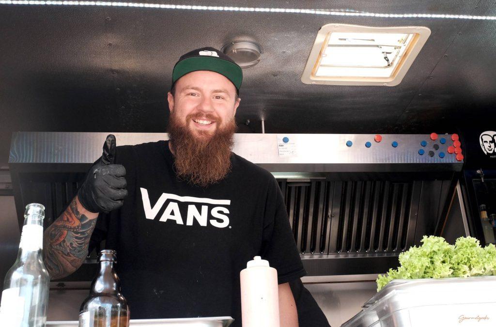 Snack 'n' Roll - Food Truck - Der kreative Kopf hinter Snack'n'Roll: Joschka Glod