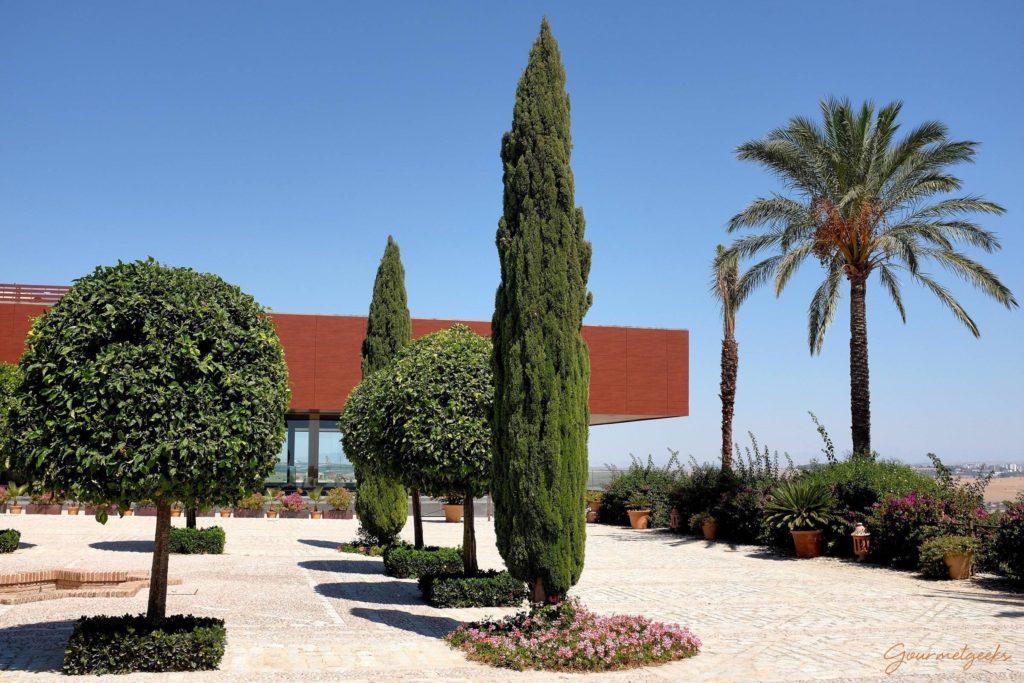 Hof auf der Hacienda Vistahermosa