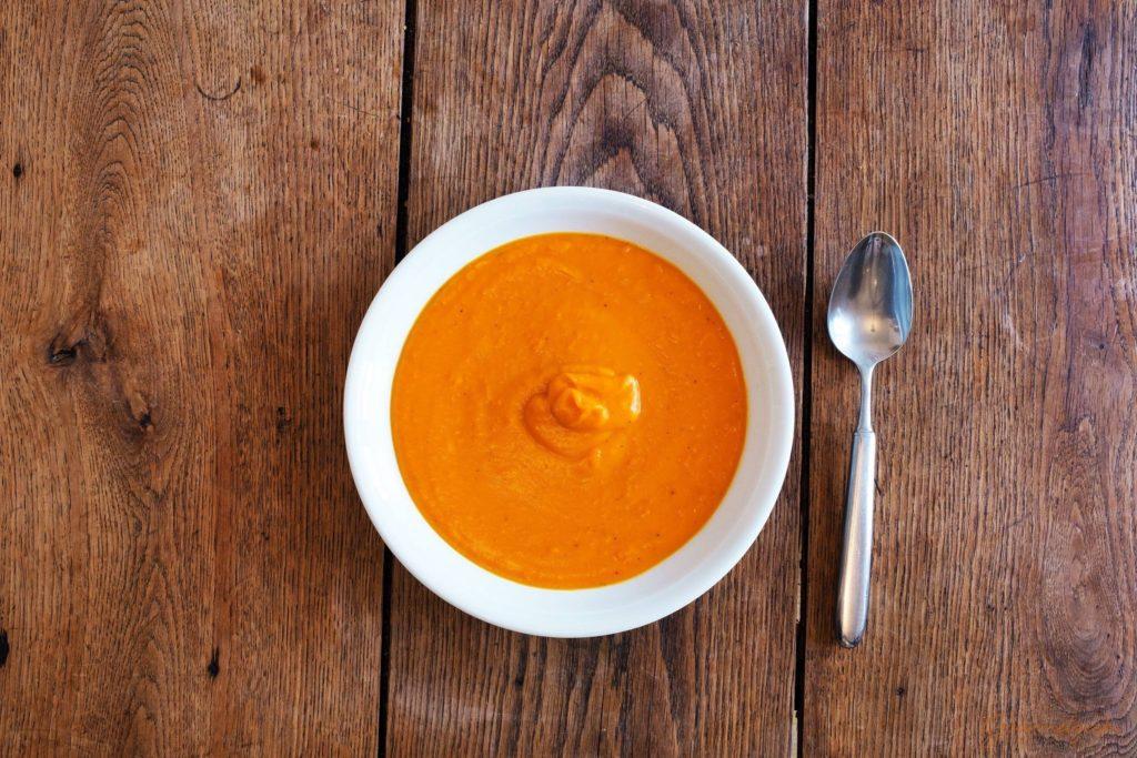 Cremig & leicht - die fertige Kürbissuppe
