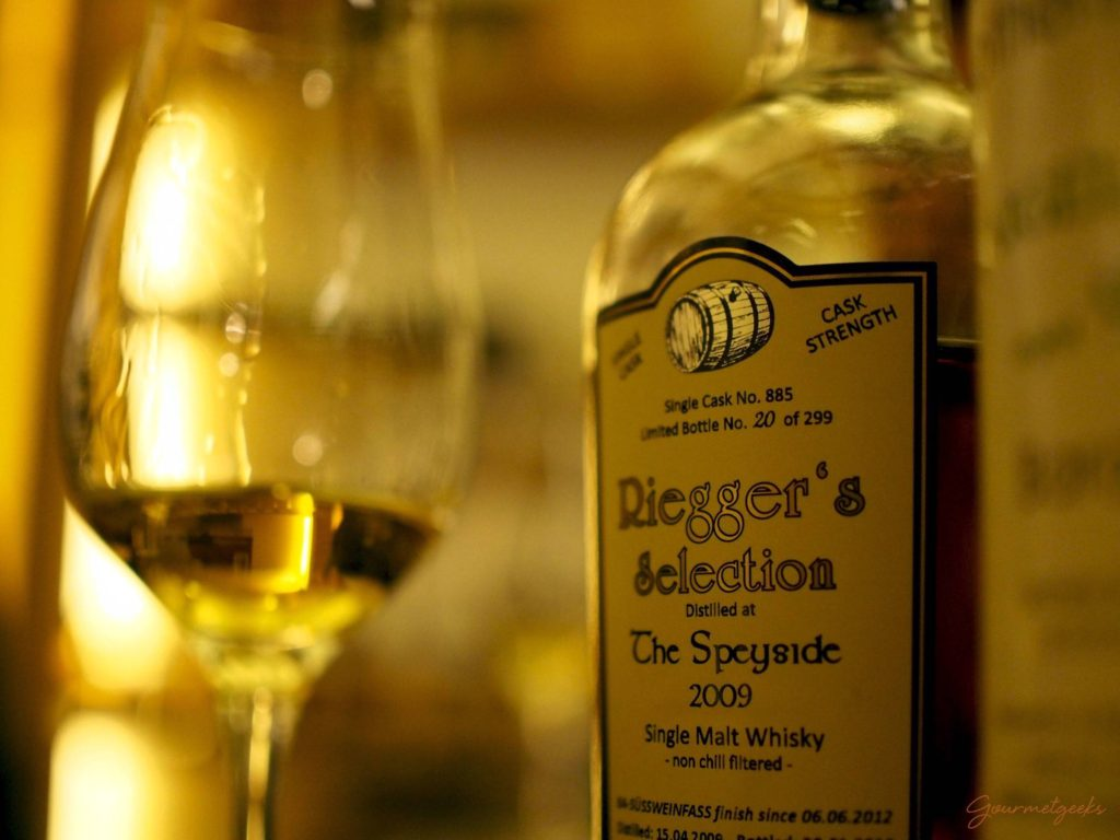 The Speyside 2009 aus der Riegger's Selection