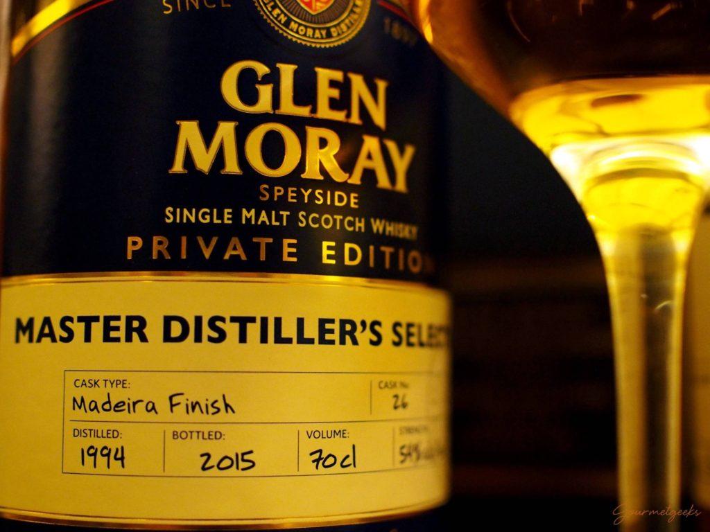Unser Favorit: 21 jährig mit Madeira Finish von Glen Moray
