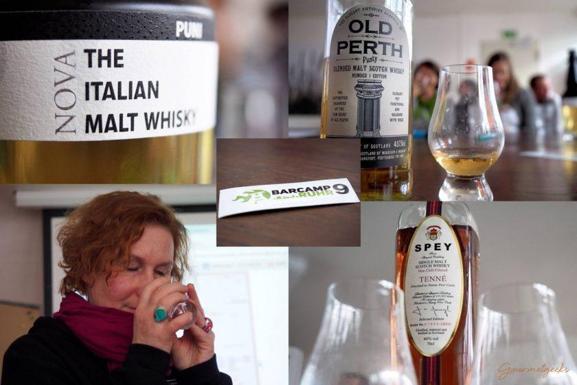 Whisky Tasting Barcamp Ruhr 9 #bcruhr9