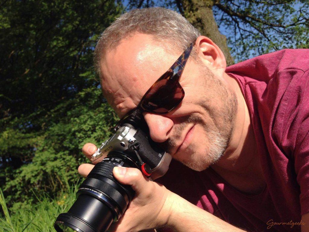 Markus beim Fotografieren