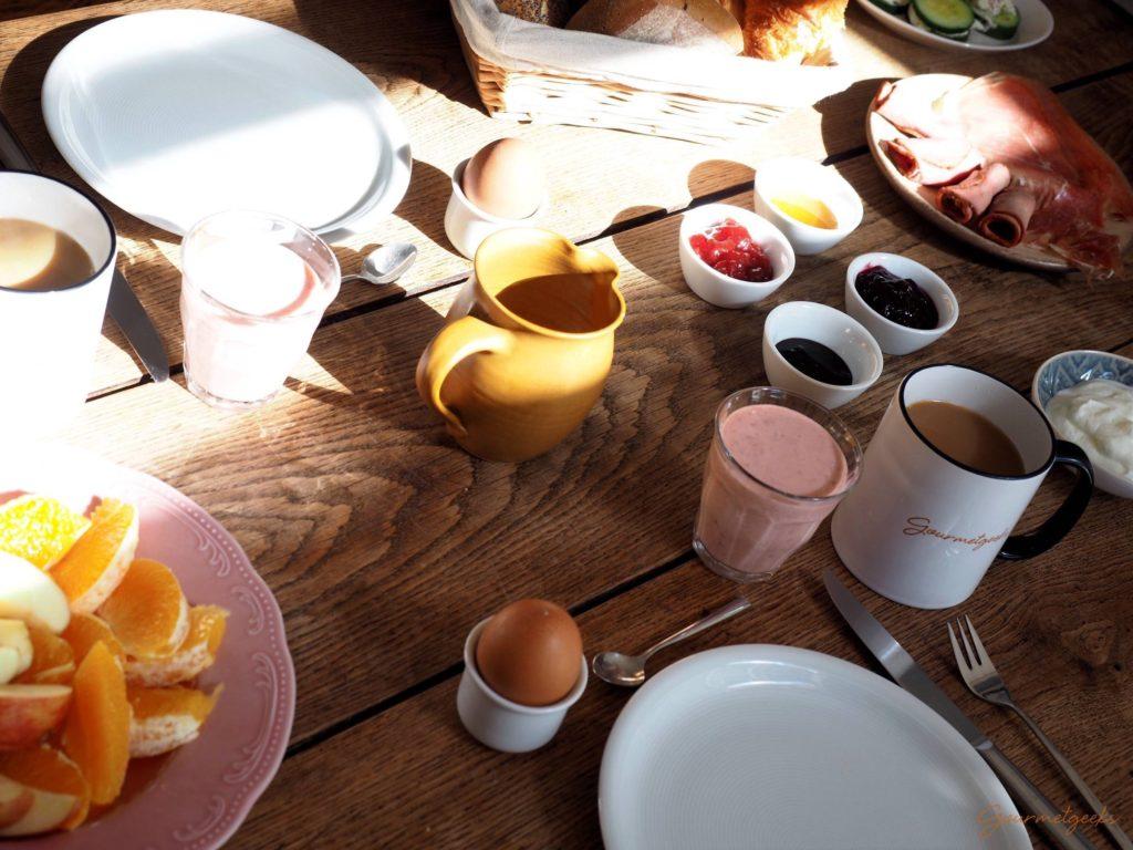 Sonntags am Frühstückstisch - herrlich