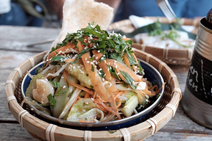 Goi-Mien - Glasnudelsalat mit Gemüse