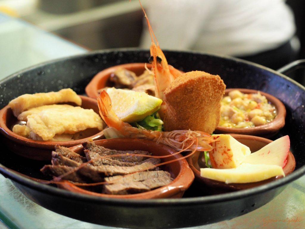 Tapas - Fleisch & Fisch