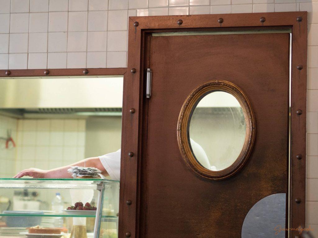 Tür ins Küchenreich