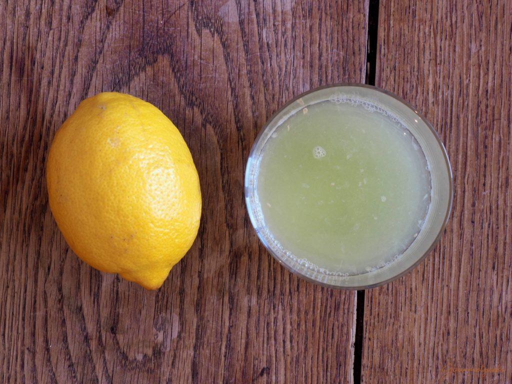 Verwendet unbedingt den Saft von frischen Zitronen!