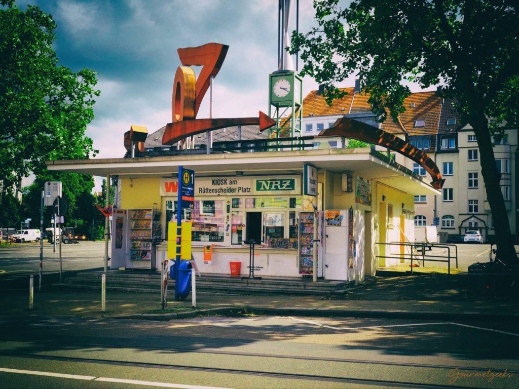 Trinkhallen gehören zum StaHier am Rüttenscheider Markt in Essen