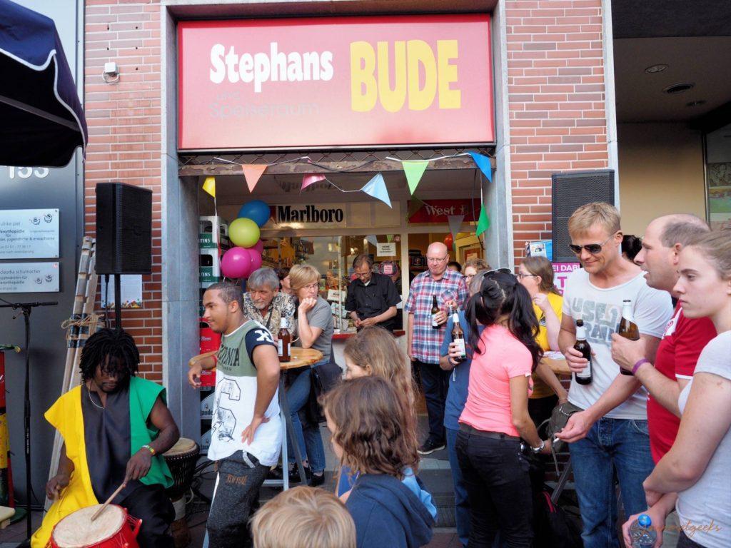 Unsere erste Trinkhalle: Stephans Bude am Rüttenscheider Stern