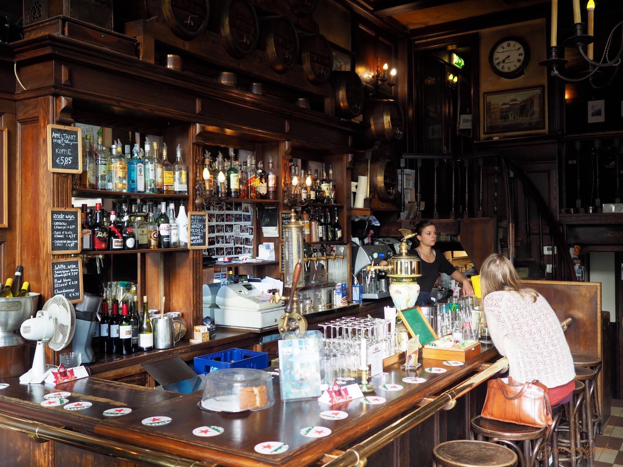 Altes bruine Café - wunderbar