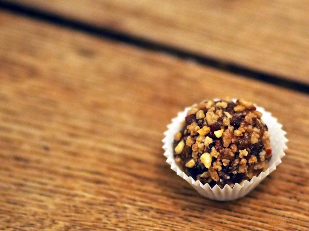 Die Süße Variante: Schmeckt auch sehr lecker mit Krokant!