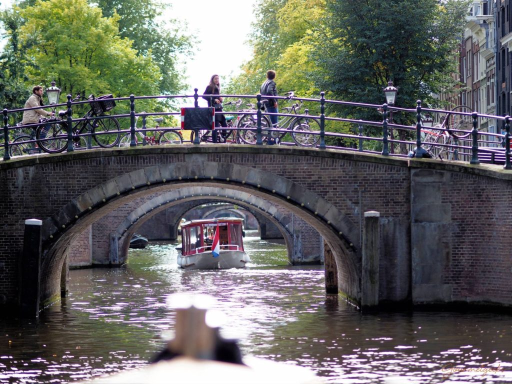 Wunderbar - Amsterdam vom Wasser aus erleben