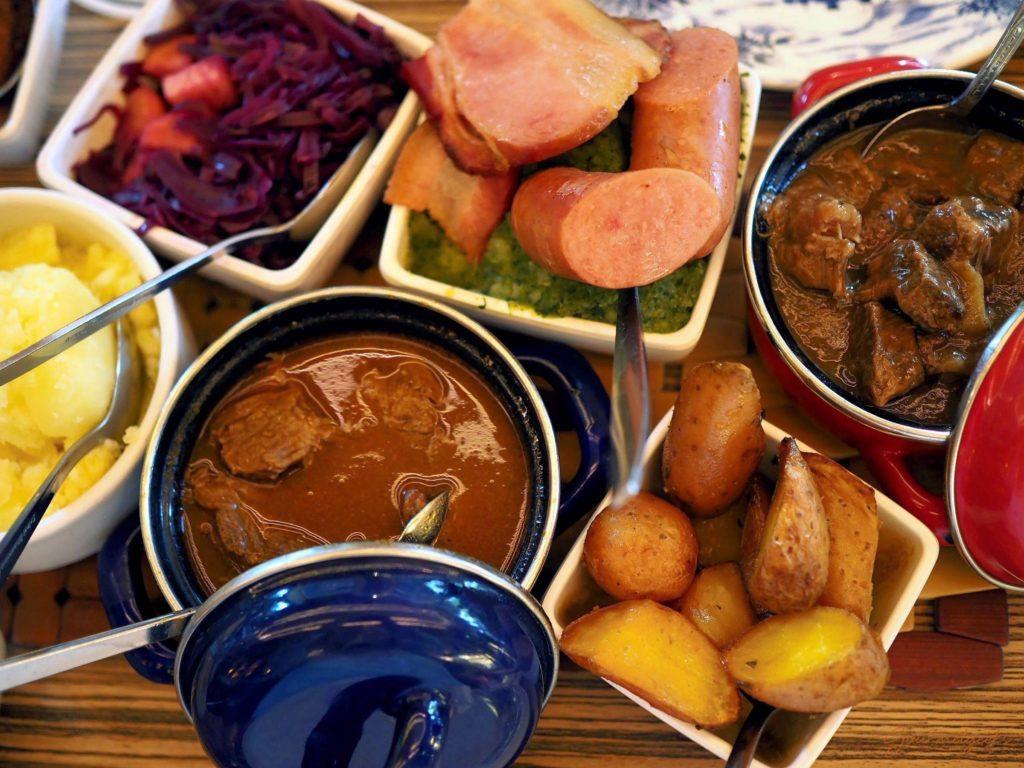 Traditionelle holländische Küche