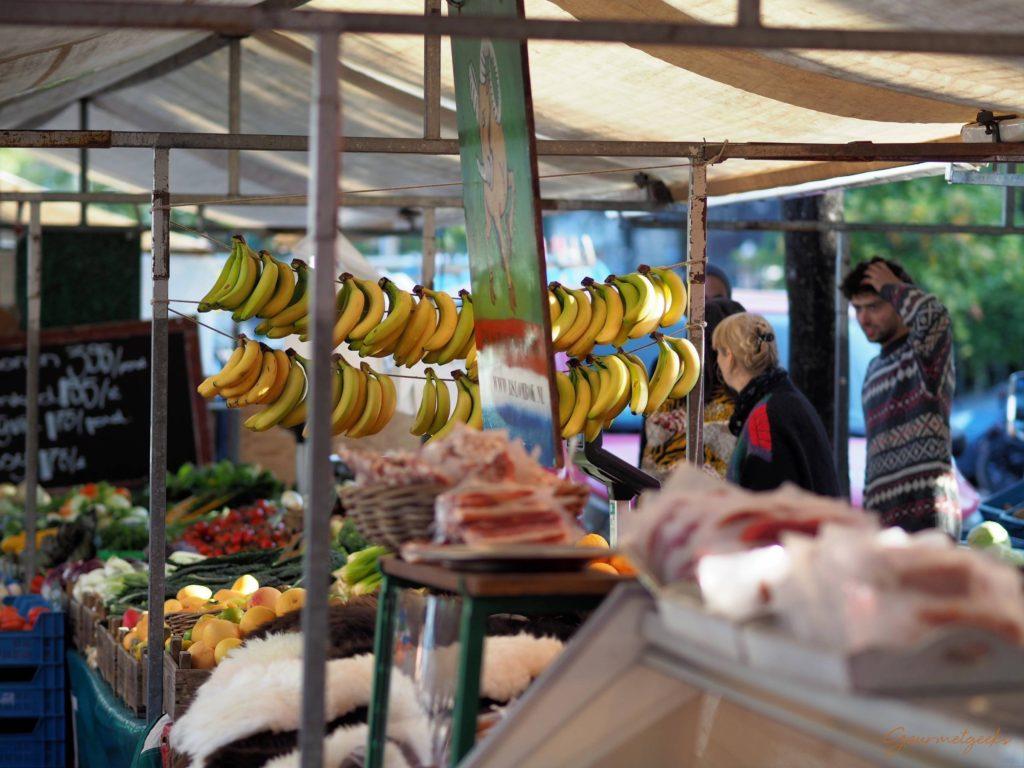 Hängende Bananen
