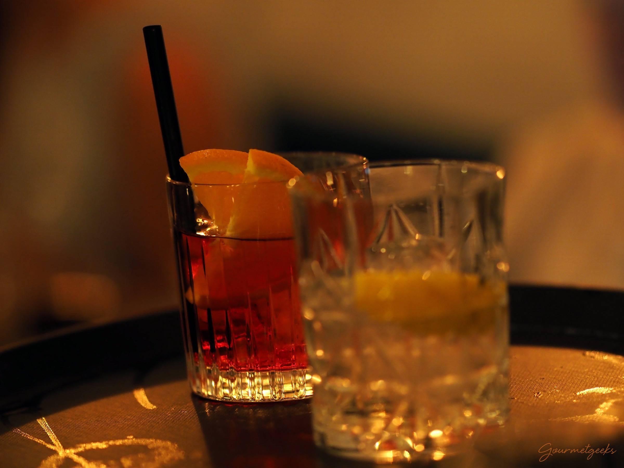 Gute Drinks gibt es auch