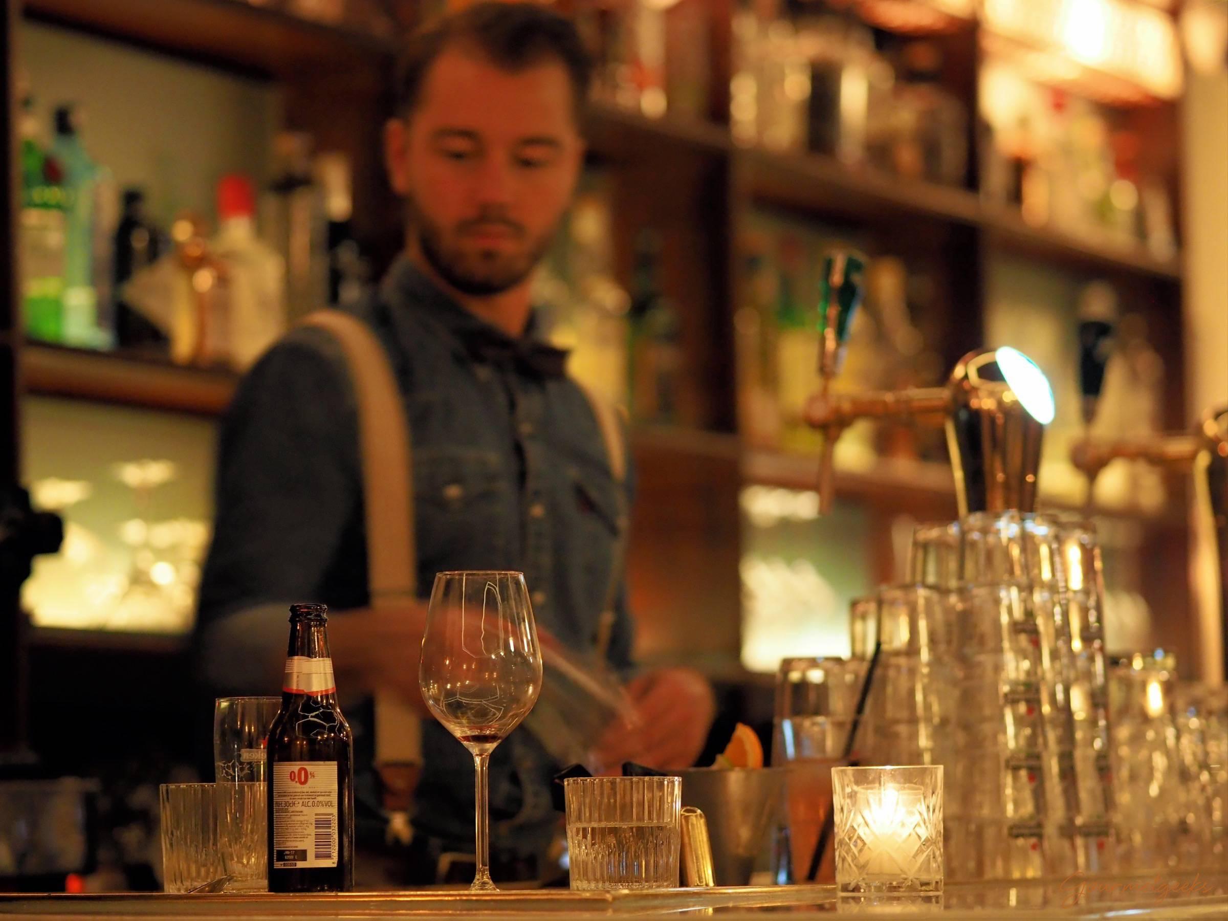 Nicht zu verachten: die Bar