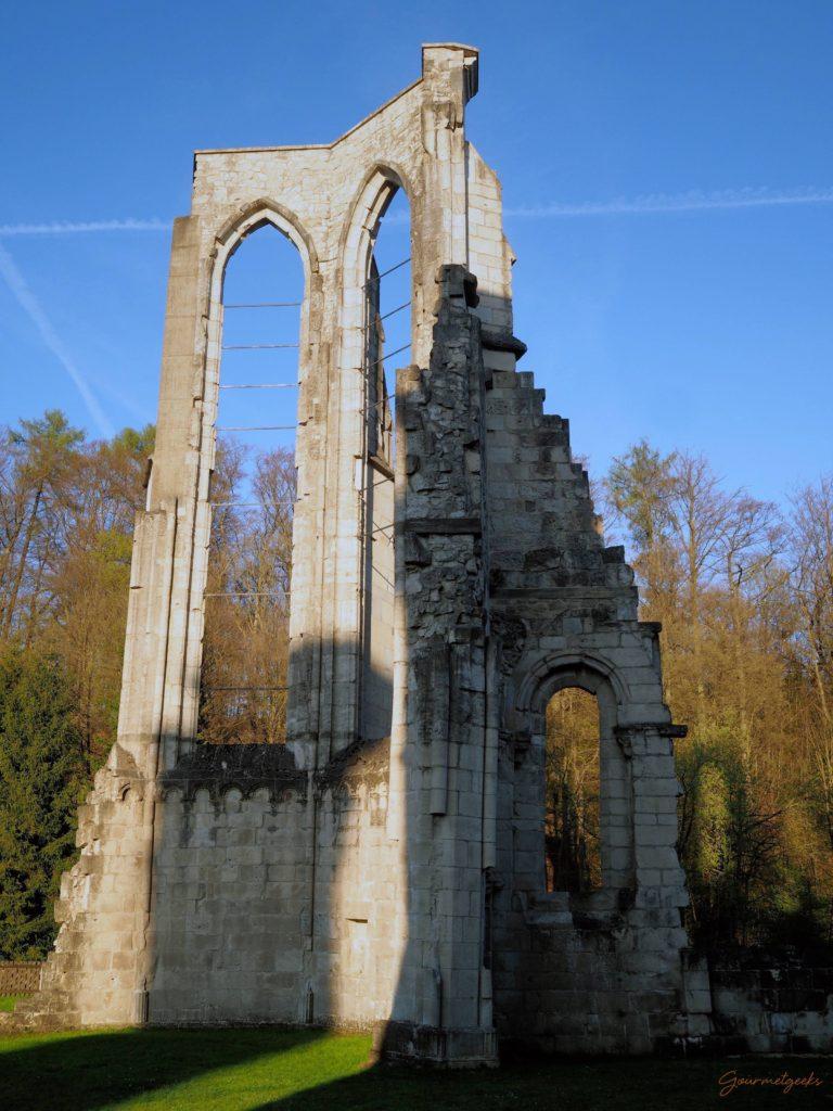 Ruinenteil der gotischen Klosterkirche