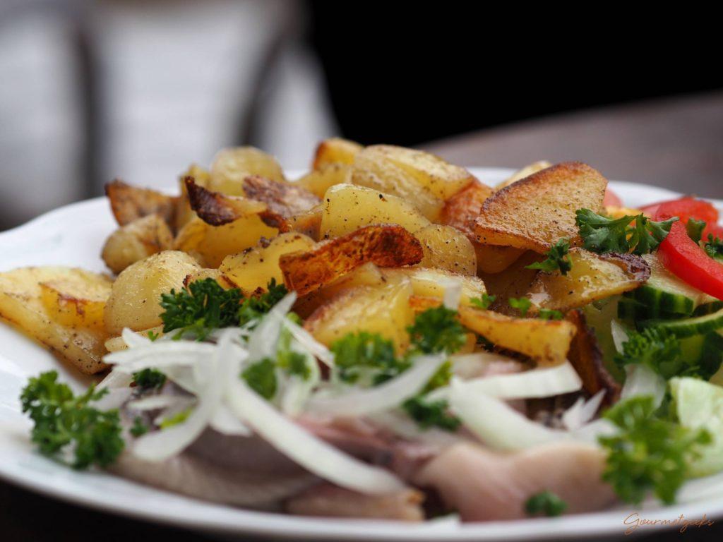 Bratkartoffeln mit Matjes - geht immer
