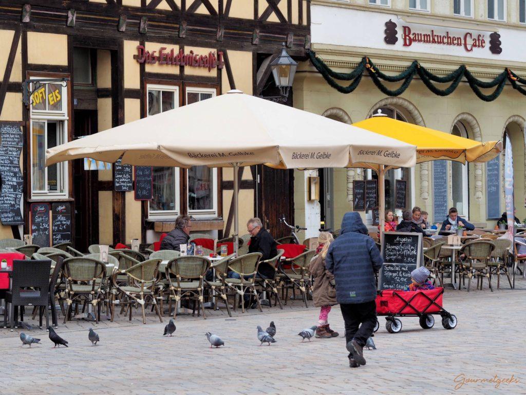 Baumkuchen Café direkt am Markt
