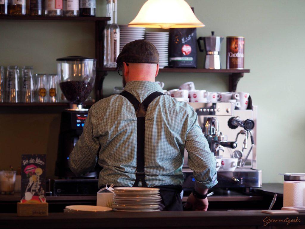 Lecker - der Kaffee im Bebop