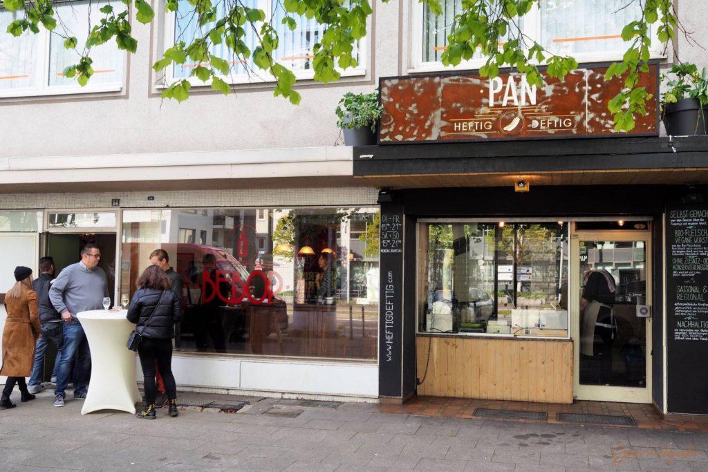 Die Adresse für Hotdogs in Essen