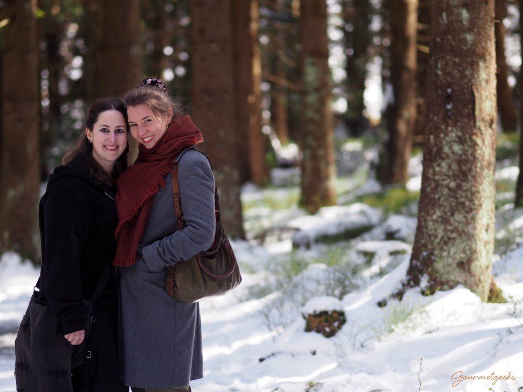 Juliane & Giulia - völlig spontan im Harzer Wald abgelichtet