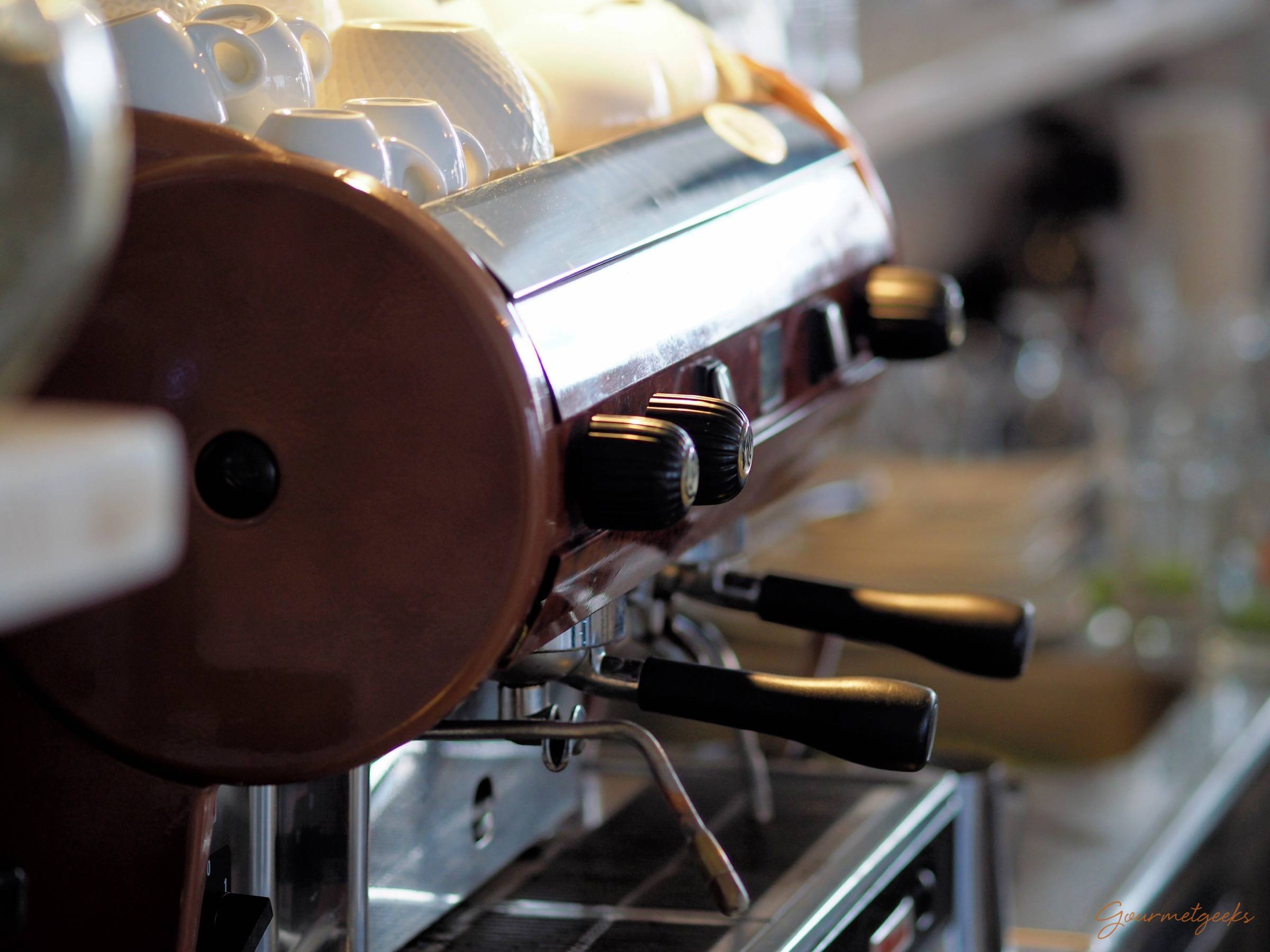 Lecker Kaffee im Kabü