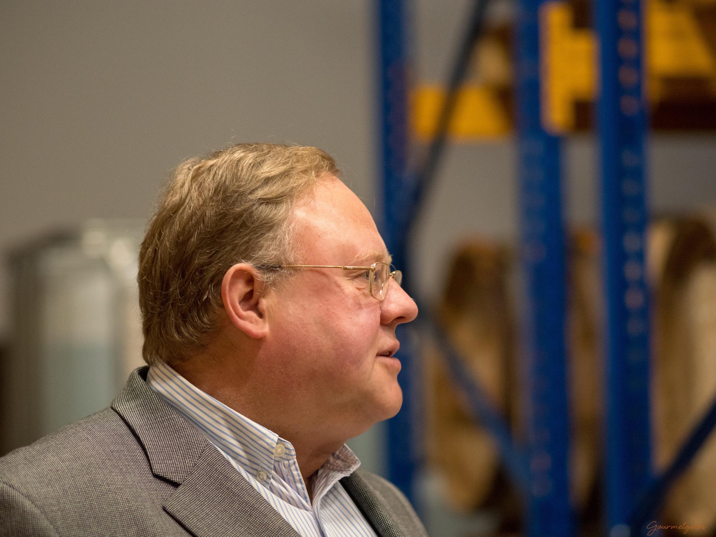 Unser Guide und Seniorchef: Karl-Theodor Buchholz